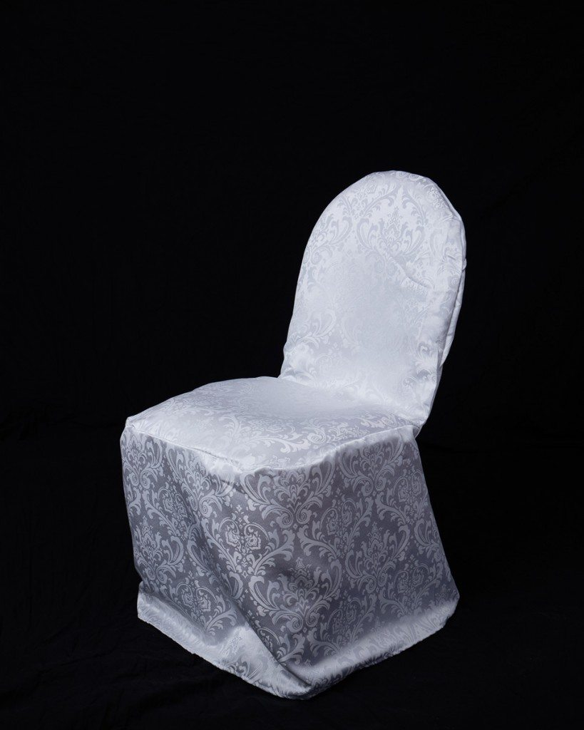 Damask Banquet Chair Cover Occasions Linen Rental