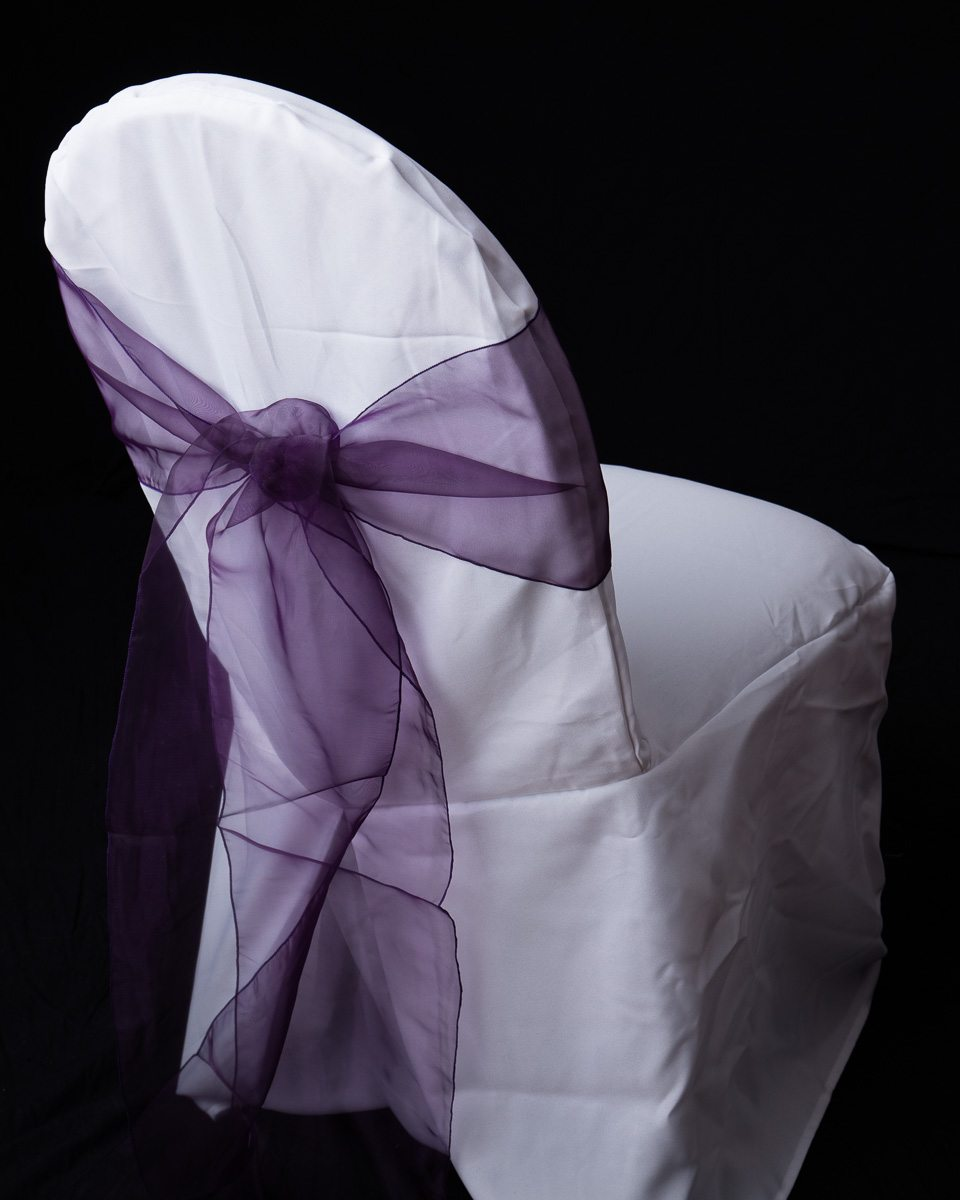 Organza Chair Sash Occasions Linen Rental