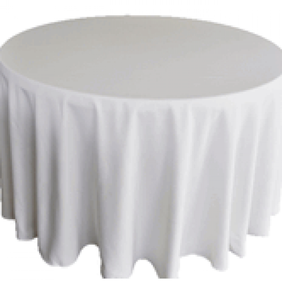 Solid Color Tablecloth-120""