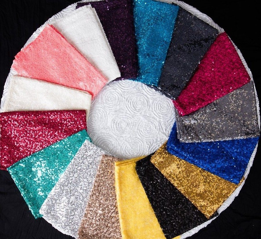 Sequin Table Napkins