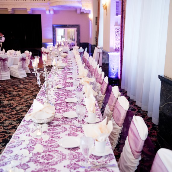 Damask Eggplant Velvet Square Table Overlay